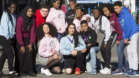 Islington Council's new youth leaders (left to right on the bottom row): Isabella Wolday, Honey Bake