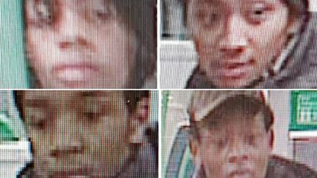 Police wish to speak to these people in connection with a stabbing on board a train as it approached