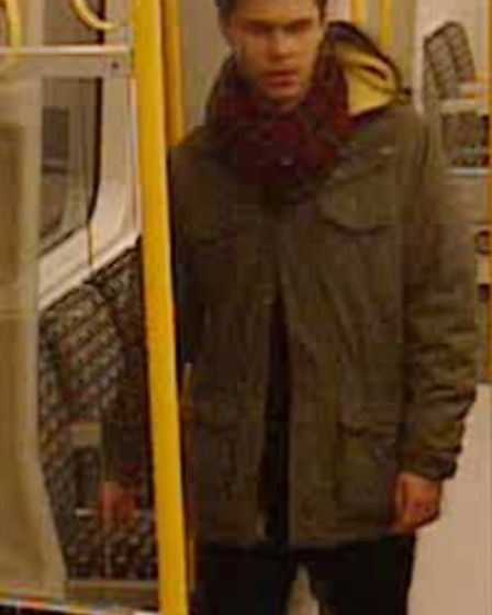 Do you know this man? British Transport Police would like to speak to him in connection with an arso