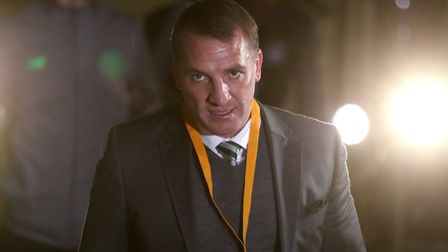 Celtic manager Brendan Rodgers. PA