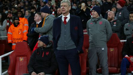Arsenal manager Arsene Wenger before the Europa League match between Arsenal vs Ostersunds FK at the
