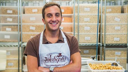Adam Sopher, co-founder and director of Joe & Seph�s Gourmet Popcorn (Picture: Sage)
