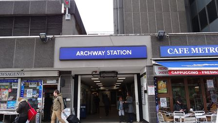 The muggings have been centred around Archway Tube station. Picture: Ian Wright/Flickr/Creative Comm