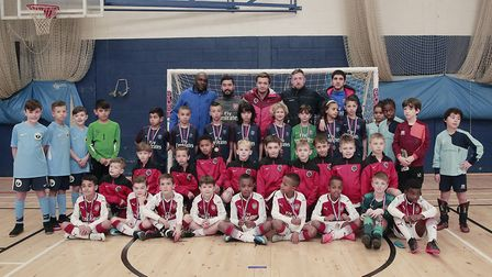 Wood Green's Focus Football ran a tournament at Fortismere School to raise funds for Action for Kids