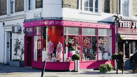 Map Gift Shop in Junction Road, Archway. Picture: Map Gift Shop