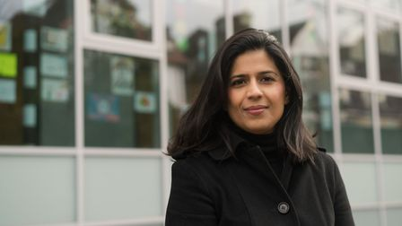 Nikki Uppal, the Women's Equality Party candidate for Hillrise in the upcoming Islington Council ele