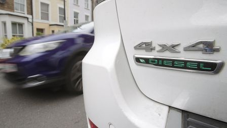A file image of a vehicle parked up in Islington. The council is looking to ban vehicles parking out