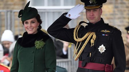 The Duchess and Duke pictured on Saturday. Picture: Andrew Parsons/Sunday Times/PA