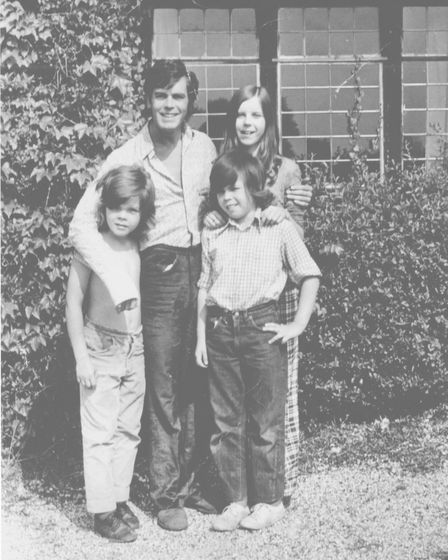 Actor Colin Campbell with children Denise, Ian and Robert