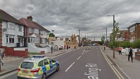 Ealing Road where a boy,17, was stabbed (Picture: Google)