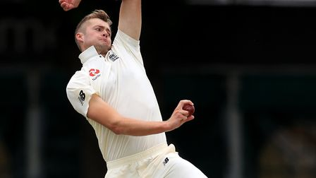 Middlesex bowler Tom Helm in action for England Lions (pic: Mike Egerton/PA)