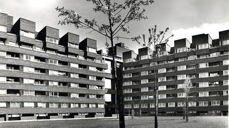 An archive photo of the Market Estate. Picture: Islington Local History Centre