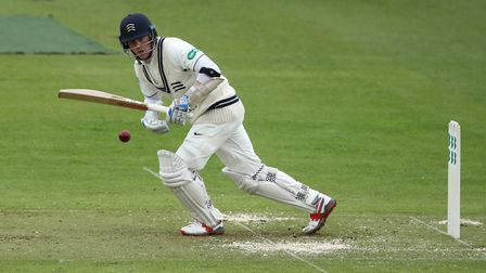 Middlesex's Sam Robson during the Specsavers County Championship Division Two match at Lord's, Londo