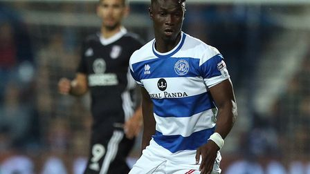Idrissa Sylla was on target for Queens Park Rangers against Sheffield Wednesday (pic: Jonathan Brady