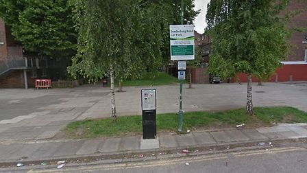 A man was stabbed to death in Roth Walk, Finsbury Park. Picture: Google Street View
