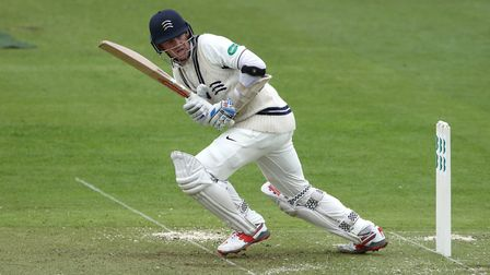 Middlesex's Sam Robson in action during the Specsavers County Championship Division Two match at Lor