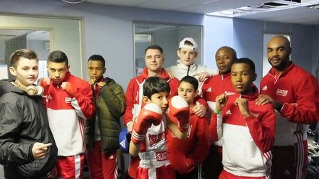 Islington youngsters at Aylesbury (pic Reggie Hagland)