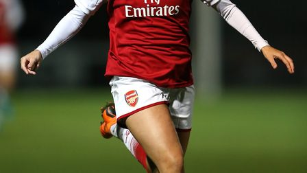 Arsenal Women's Beth Mead (pic Nigel French/PA)