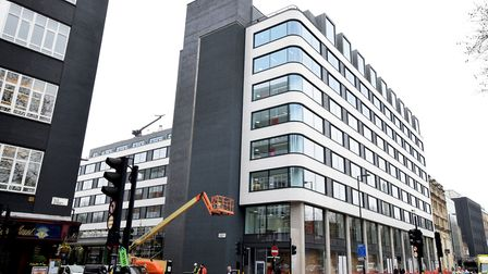 The old Post Office site in Old Street is being re-built. It will mainly be occupied by CNN. Picture