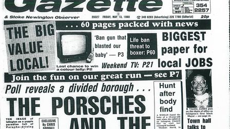 Islington Gazette: May 13, 1988