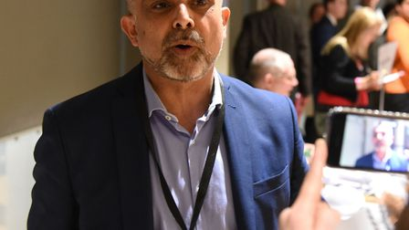 Cllr Muhammed Butt, whose Labour group has increased its majority on Brent Council. Picture: Ken Mea