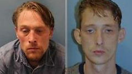 Shaun (left) and William Moorhouse Picture: Met Police