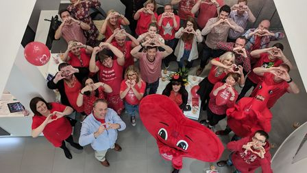Curtins staff will be raising money for the British Heart Foundation over the next year.