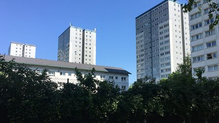 New homes are planned for the Harvist Estate. Picture: Sam Gelder