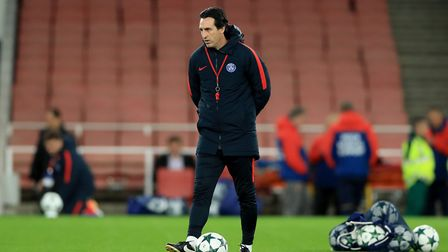 Unai Emery, the former Paris Saint-Germain manager has joined Arsenal as head coach. PA