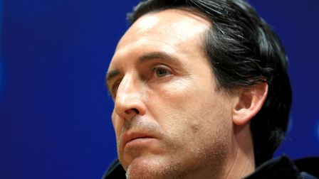 Unai Emery, the former Paris Saint-Germain manager is set to join Arsenal. Pictured at the Emirates