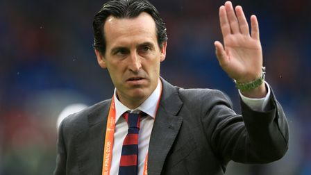 Unai Emery is set to be revealed as Arsenal's new manager (pic Adam Davy/PA)