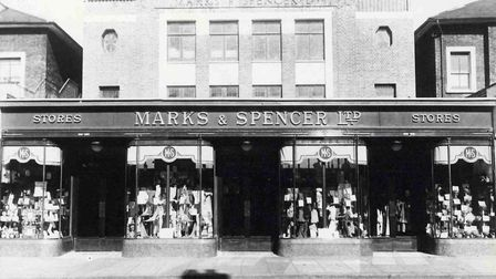 The Marks & Spencer store in Holloway in 1931