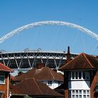 A general view of Wembley Stadium. Picture: John Walton/PA Wire.