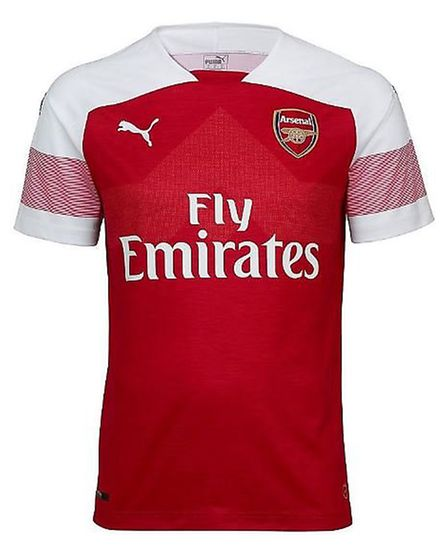The new Arsenal home kit for 2018-19