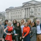 'Where others see boundaries, we see opportunities.' The SE10 team outside Buckingham Palace. Pictur