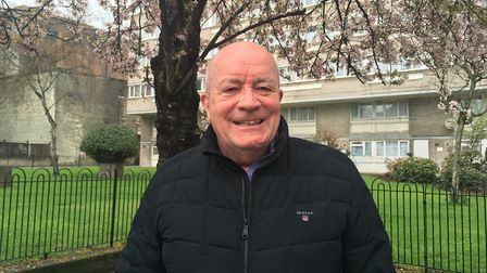 Former councillor John Duffy, who stood as an independent after being deselected from the Labour Par