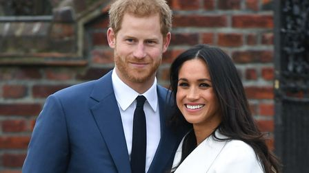 Prince Harry and Meghan Markle. Picture: Doug Peters/Empics Entertainment