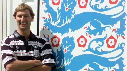 England defender Tony Adams at the 1998 World Cup in France (pic Adam Butler/PA)