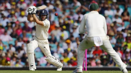 England's Dawid Malan in action during day one of the Ashes Test at Sydney Cricket Ground (pic Jason