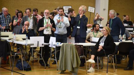 Council elections taking place at the Michael Sobell Leisure Centre.