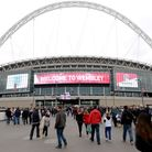 Wembley Stadium. Picture: Andrew Matthews/PA Wire