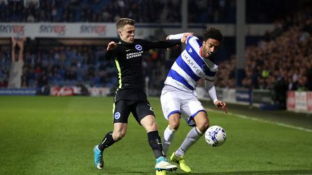 James Perch (right) will leave Queens Park Rangers this summer (pic: Steven Paston/PA)