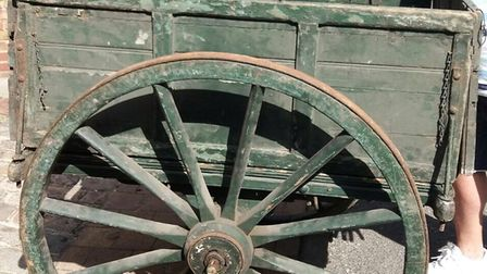 The 5th Islington Scout Group's restored wagon from 1910. Picture: Lindsay Riley