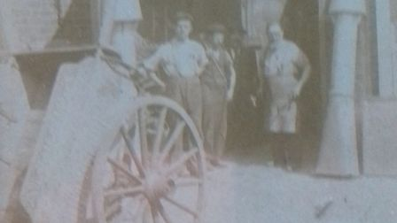 The original 5th Islington Scout Group cart, which has been newly restored. Picture: 5th Islington S