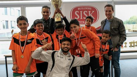 London Tigers, under 11s champions of the Brent Super Cup 2018 (Picture: Cllr Zaffar Van Kalwala)