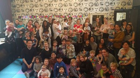 Busy Rascals celebrates its 6th birthday at the Queensbury pub in Willesden Green