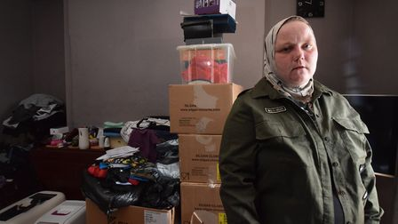 Jennifer Read is forced to live in one room after a water tank in the loft above her Loraine Estate