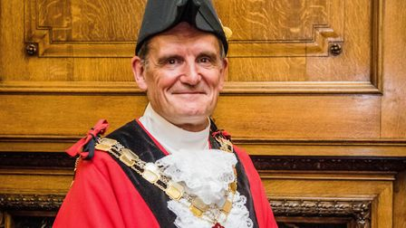 Cllr Dave Poyser, Islington's mayor for 2018/19. Picture: Em Fitzgerald/Islington Council