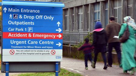 A file image of Northwick Park Hospital. Picture: Anthony Devlin/PA