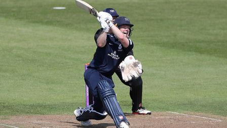 Middlesex's Eoin Morgan during the Royal London One Day Cup, South Group match at the Brightside Gro